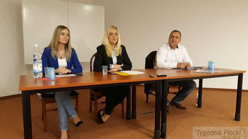 Wiadomości, Konferencja prasowa Kukiz Płocku - zdjęcie, fotografia