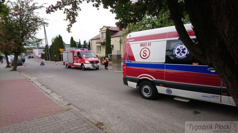 Inne zdarzenia, miał funkcji życiowych Uratowali strażacy świadek zdarzenia - zdjęcie, fotografia