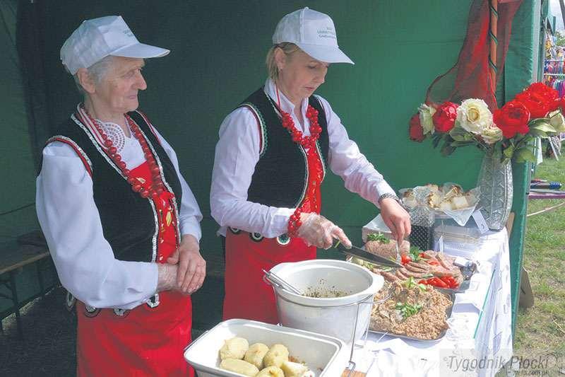 Sierpc - powiat sierpecki, Wielkie gotowanie skansenie - zdjęcie, fotografia
