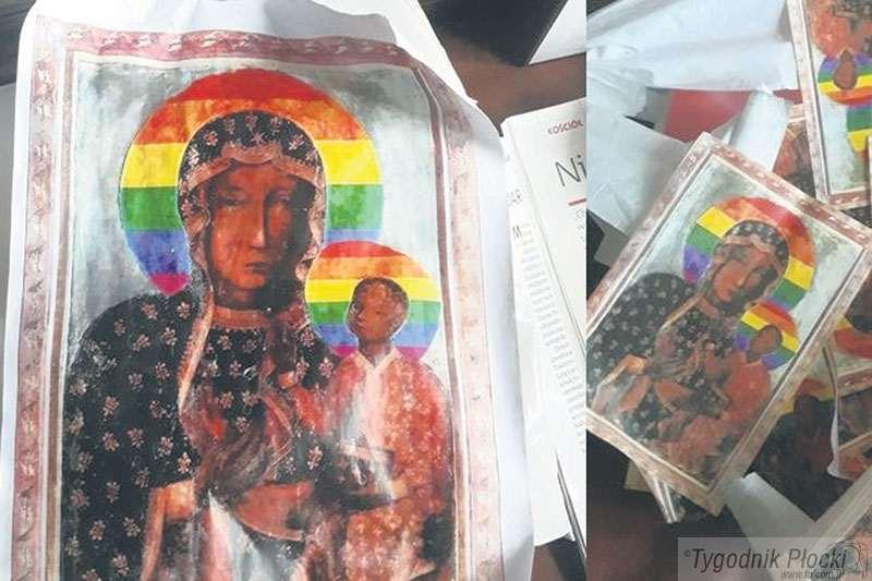 Temat numeru, milkną profanacji wizerunku Matki Boskiej Częstochowskiej - zdjęcie, fotografia