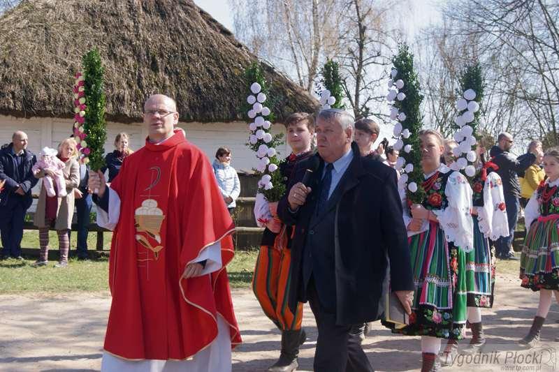 Sierpc - powiat sierpecki, Niedziela Palmowa skansenie - zdjęcie, fotografia