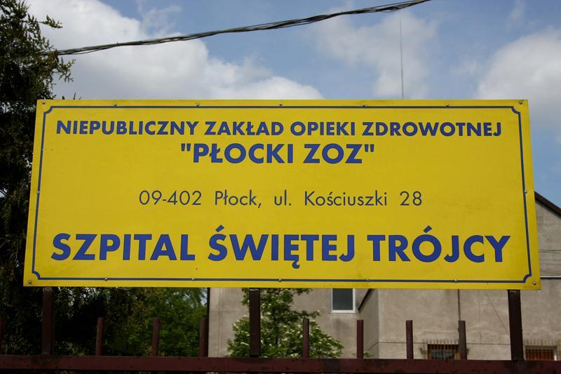 Zdrowie - Szpital, Niełatwa sytuacja Płockim Zakładzie Opieki Zdrowotnej - zdjęcie, fotografia