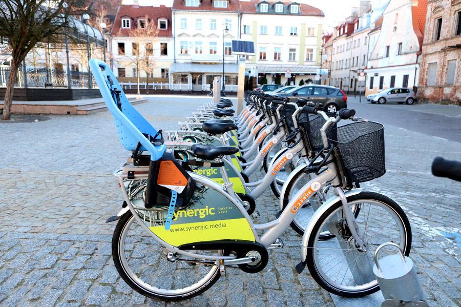 O tym się mówi, Miejskie rowery wróciły ulice Płocka - zdjęcie, fotografia