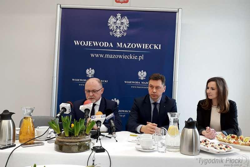 Aktualności, Wojewoda mazowiecki wizytą Płocku - zdjęcie, fotografia