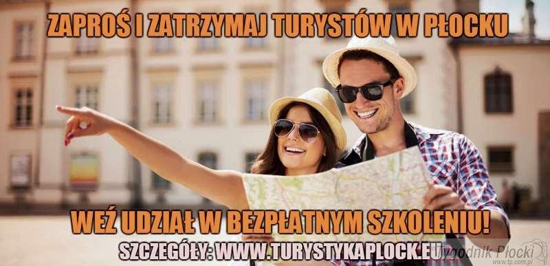Aktualności, Płocka Lokalna Organizacja Turystyczna zaprasza bezpłatne szkolenie - zdjęcie, fotografia
