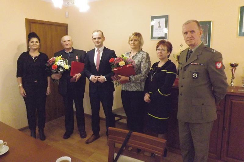 Aktualności, Wyjątkowa uroczystość Radzanowie Zasłużeni obronności - zdjęcie, fotografia