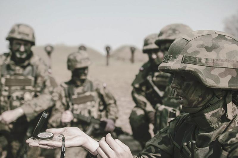 """Aktualności, Zachęcają żołnierze """"terytorialsów"""" Można zgłaszać Płocku Sierpcu - zdjęcie, fotografia"""