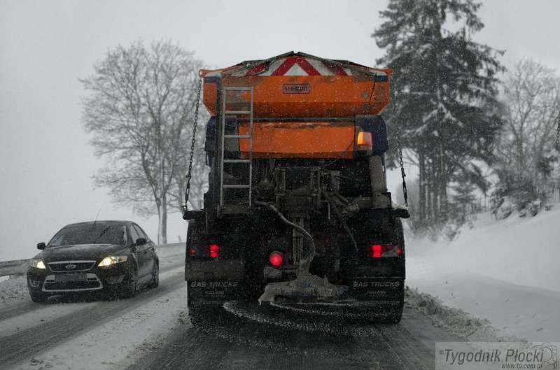 Wiadomości, pracy drogowców lutego - zdjęcie, fotografia