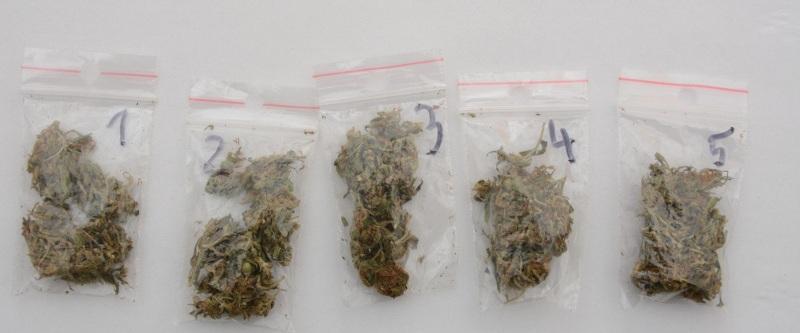 Wiadomości, Narkotyki znalezione podczas kontroli drogowej interwencji - zdjęcie, fotografia