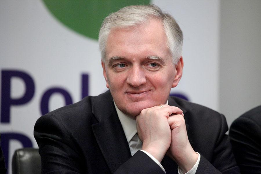 Wiadomości, Minister Gowin - zdjęcie, fotografia