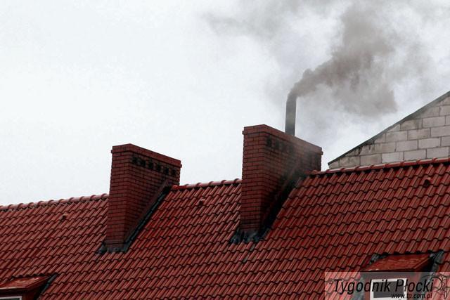 Aktualności, płocczanie palą piecach - zdjęcie, fotografia