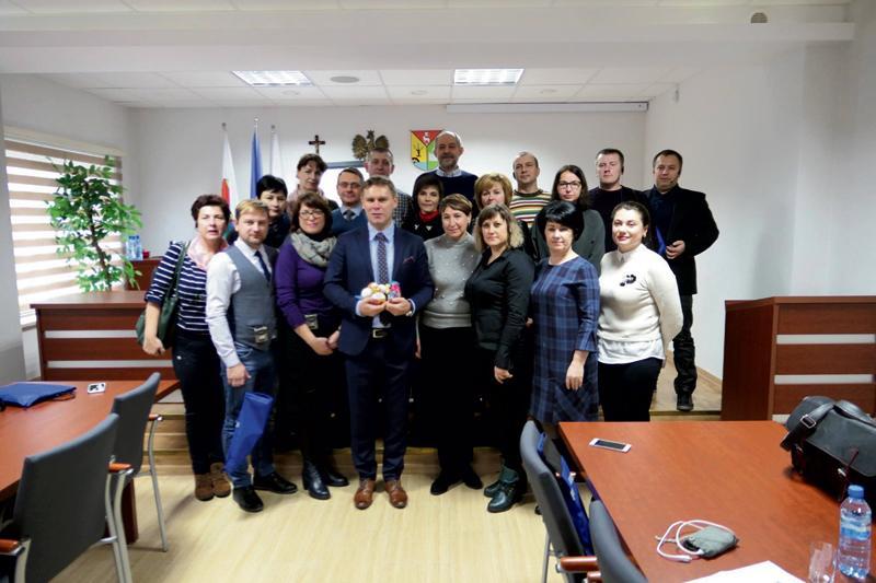 Płock - powiat płocki, Delegacja Ukrainy Słupnie - zdjęcie, fotografia
