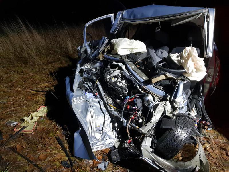 Wypadek, Kolejny tragiczny wypadek drogach powiatu płockiego - zdjęcie, fotografia