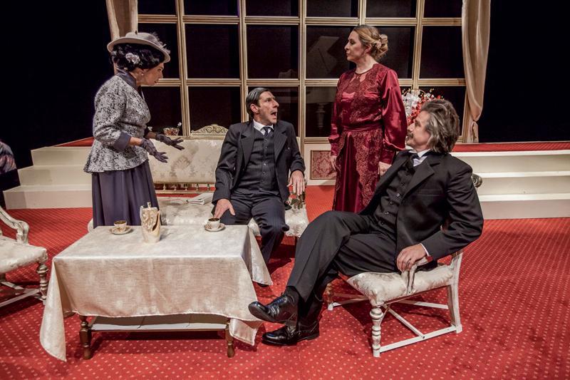"Teatr, ""Fantazja Paderewskim - zdjęcie, fotografia"
