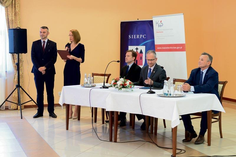 Sierpc - powiat sierpecki, Konferencja skansenie konstytucji biznesu - zdjęcie, fotografia