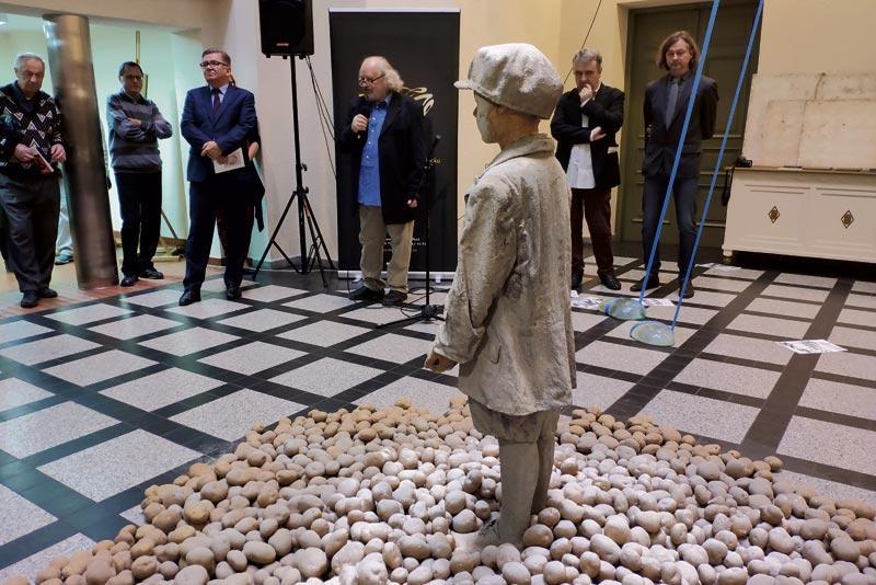 Wystawy, Schulz Kalina Muzeum Mazowieckim - zdjęcie, fotografia
