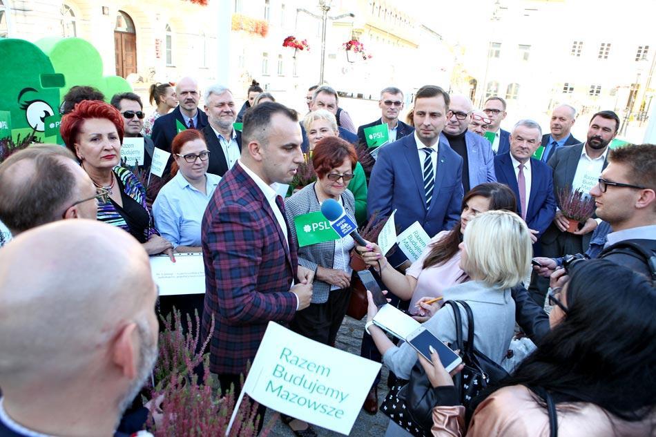 Aktualności, Bilans kampanii wyborczej ludowców - zdjęcie, fotografia
