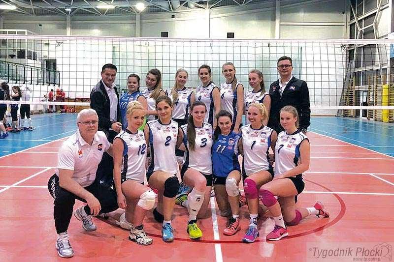 Piłka siatkowa, Siatkarki Volley Płock przed wielkim wyzwaniem - zdjęcie, fotografia
