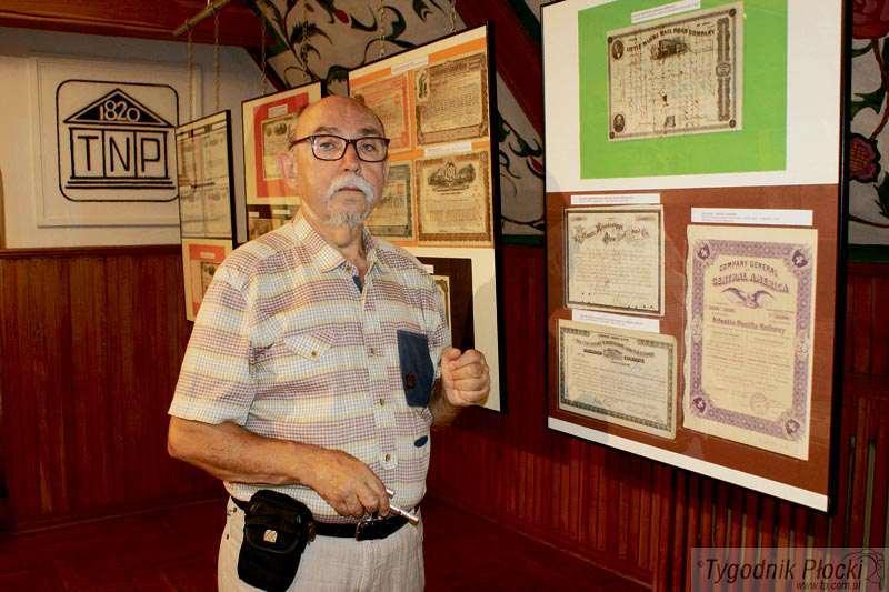 Wystawy, Papiery wartościowe amerykańskich towarzystw kolejowych - zdjęcie, fotografia