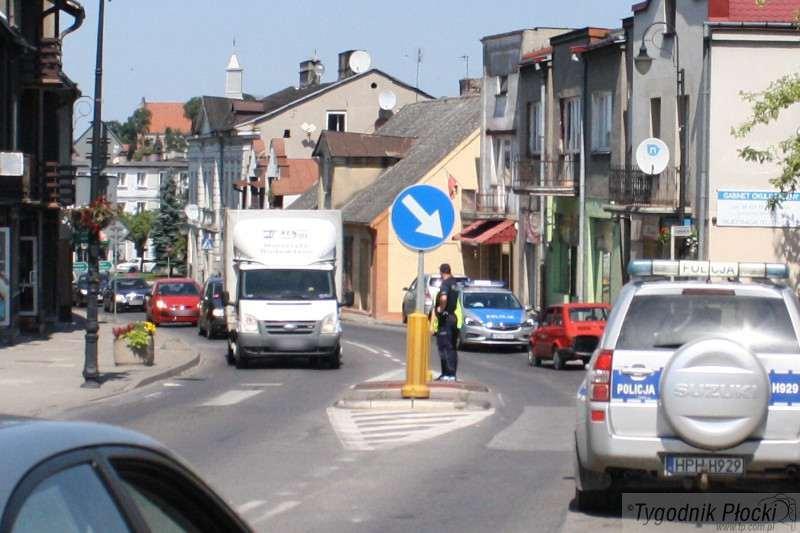 Wiadomości, Wypadek ulicy Płockiej Sierpcu - zdjęcie, fotografia