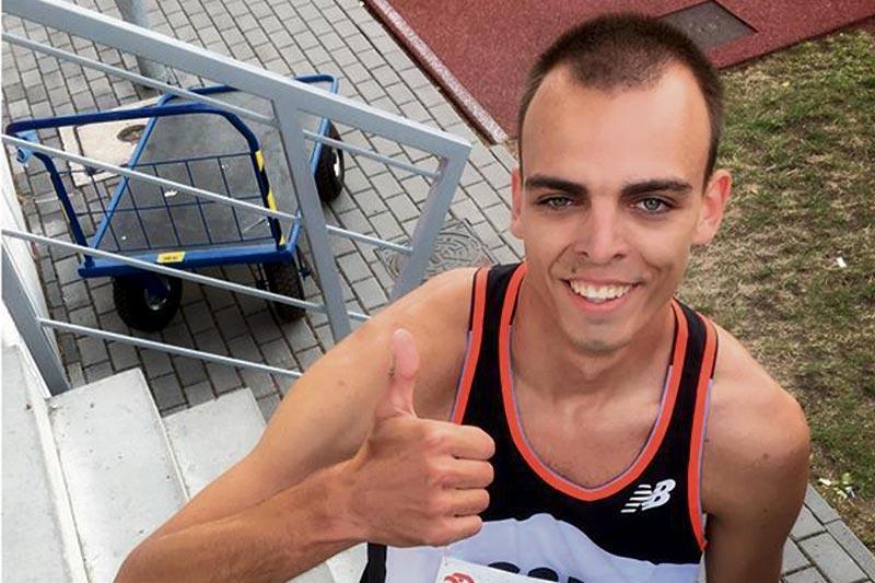 Lekkoatletyka, Gabriel Mikołajewski powalczy medal mistrzostwach Polski seniorów - zdjęcie, fotografia