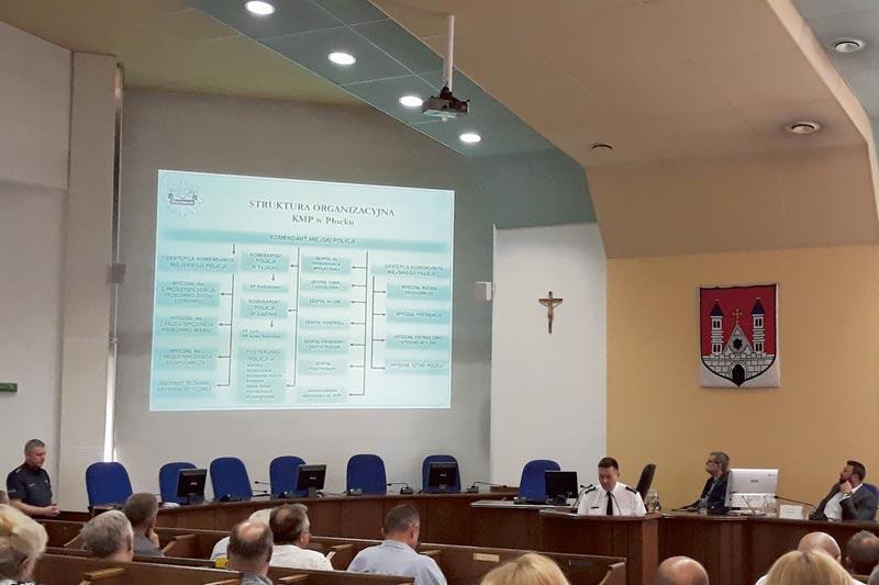 Aktualności, Debata bezpieczeństwie Płocku - zdjęcie, fotografia