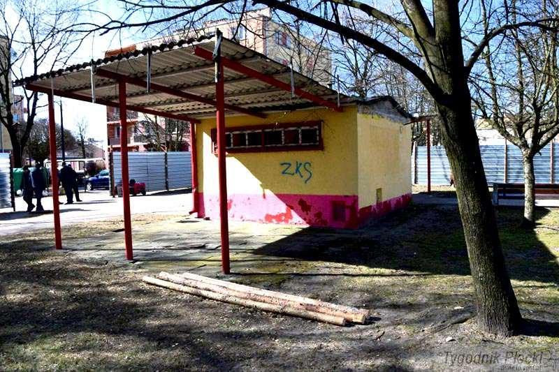 Sierpc - powiat sierpecki, Parku Mirosławskiego trwają zmiany - zdjęcie, fotografia