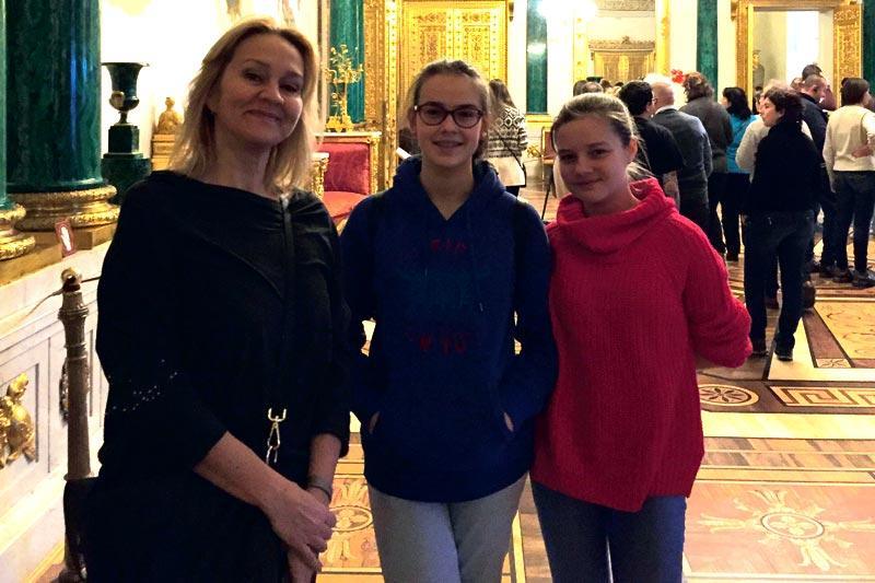 Edukacja - szkoły , Podbiły Sankt Petersburg - zdjęcie, fotografia