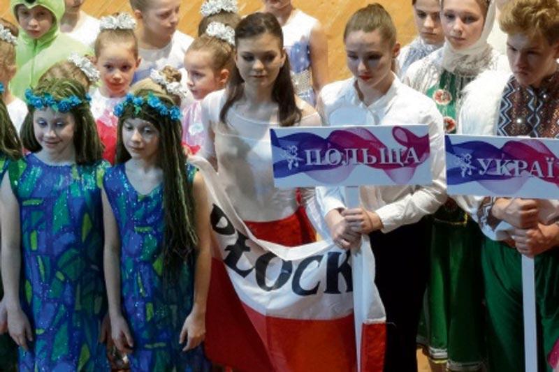 Edukacja - szkoły , Płocczanki wytańczyły nagrodę - zdjęcie, fotografia