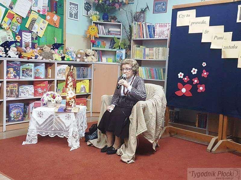 Edukacja - szkoły , Spotkaniem żywą historią Słupno - zdjęcie, fotografia