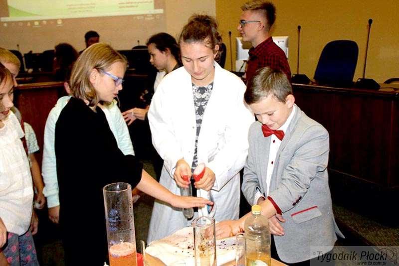 Edukacja - szkoły , Młodzi naukowcy - zdjęcie, fotografia
