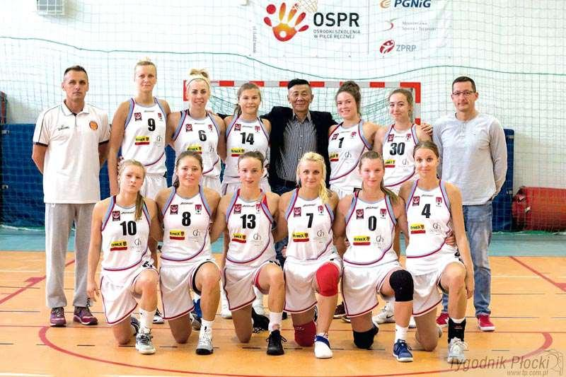 Koszykówka, powalczy lidze koszykówki kobiet - zdjęcie, fotografia