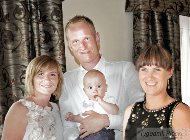 Piłka ręczna, Rodzina sportowym genem - zdjęcie, fotografia