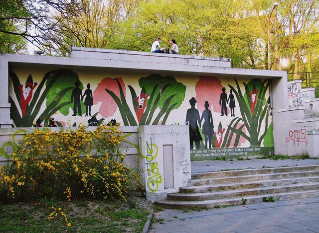 Instytucje, Płockie graffiti - zdjęcie, fotografia