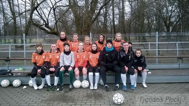 Piłka nożna, Pomarańczowa wiosna - zdjęcie, fotografia