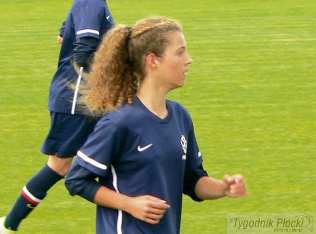 Piłka nożna, Julia reprezentantką Polski - zdjęcie, fotografia