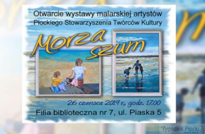 Wiadomości, Morze obrazach - zdjęcie, fotografia