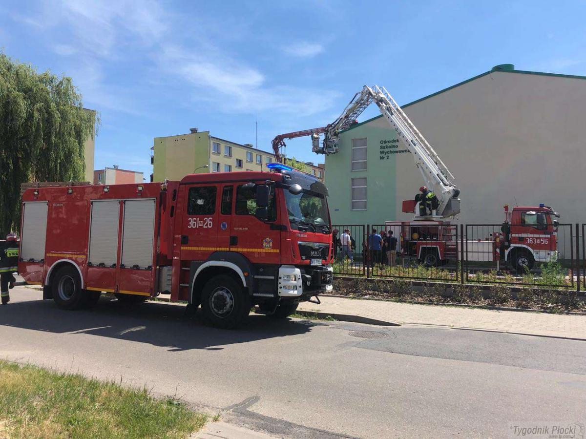 Pożary - interwencje straży  , Ogień Lasockiego - zdjęcie, fotografia