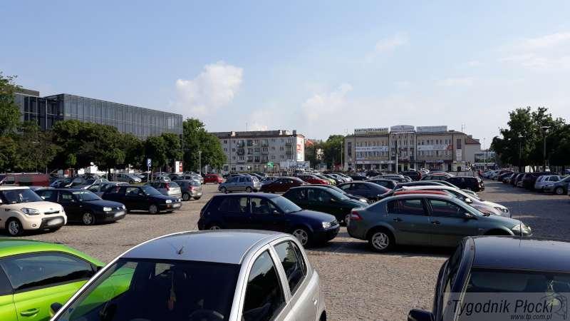 Wiadomości, czerwca będzie zamknięty parking przed teatrem szczęście tylko częściowo - zdjęcie, fotografia