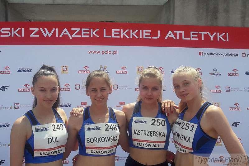 Lekkoatletyka, Młodzi lekkoatleci Delta Płock poprawiają wyniki - zdjęcie, fotografia