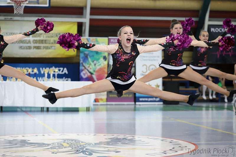 Aktualności, Płockie cheerleaderki wytańczyły mistrzostwo - zdjęcie, fotografia