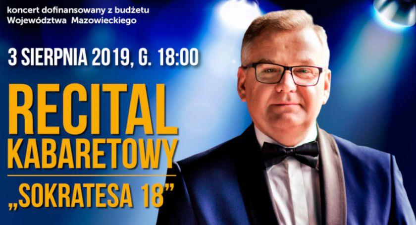 Wiadomości, Kabaretowy recital Andrusa skansenie - zdjęcie, fotografia