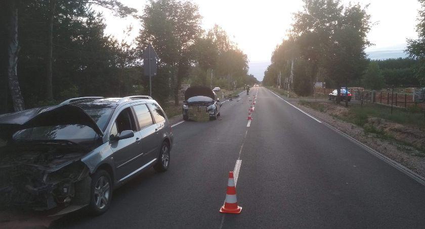 Wypadki drogowe, Wypadek Nowej Korzeniówce - zdjęcie, fotografia