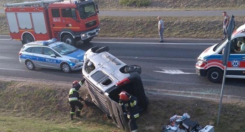 Wypadki drogowe, Groźny drogowy strzał mieli zielone - zdjęcie, fotografia