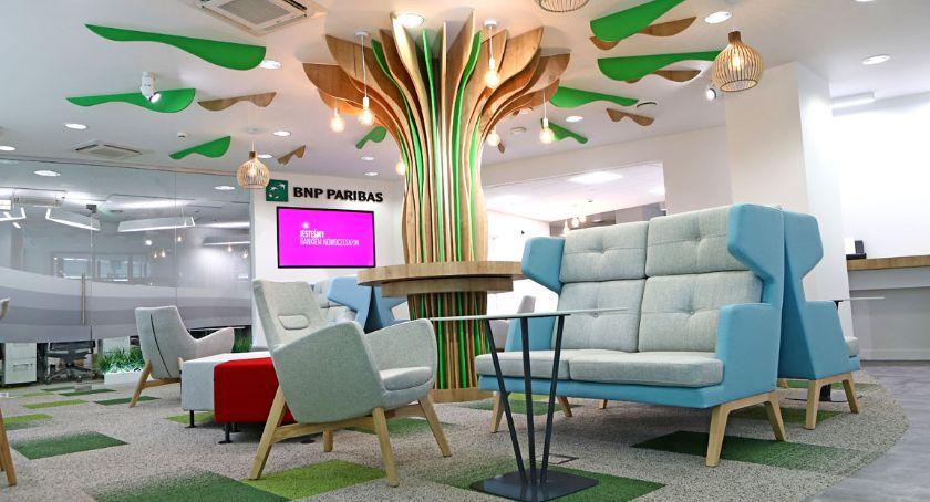 inne, Płock kolejny digitalowy oddział Banku Paribas otwarty! - zdjęcie, fotografia