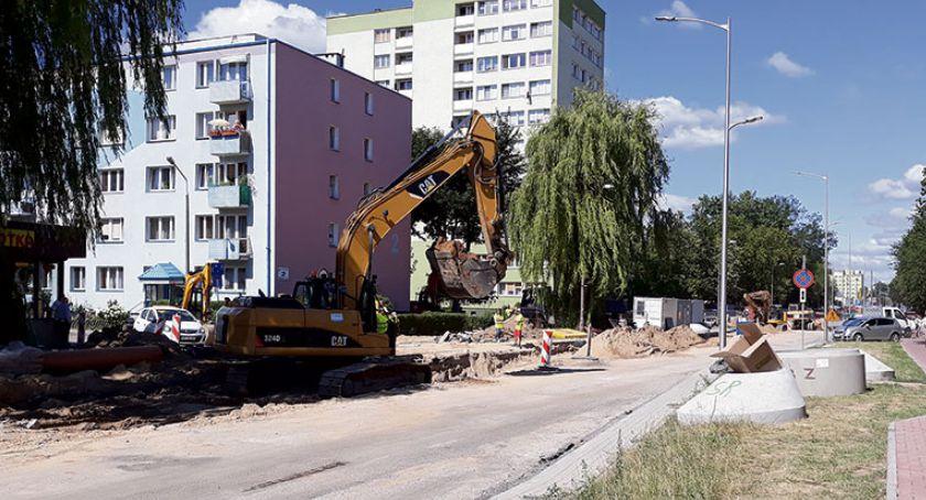 Inwestycje, Miesiące drogowych męczarni - zdjęcie, fotografia