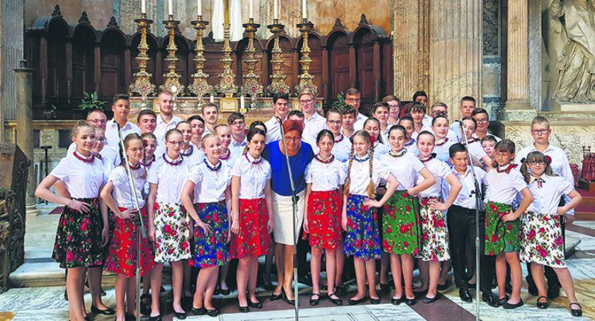 Wydarzenia kulturalne, Kolejne sukcesy płockich chórzystów - zdjęcie, fotografia