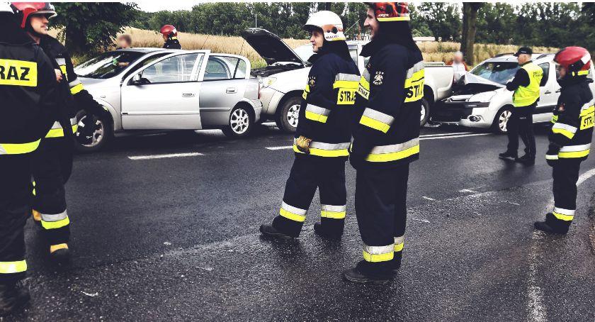 Wypadek w Srebrnej, droga na Siecień