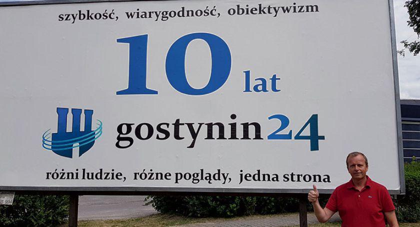 Gostynin - powiat gostyniński, Trzeba pozostawić ślad - zdjęcie, fotografia