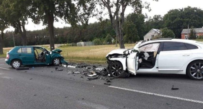 Wypadki drogowe, Wypadek Wilczkowie ofiary śmiertelne (AKTUALIZACJA) - zdjęcie, fotografia